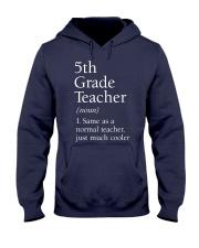 5th grade Teacher  Hooded Sweatshirt thumbnail