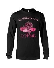 IN OCTOBER WE WEAR PINK Long Sleeve Tee thumbnail