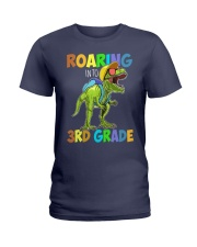 3rd grade roaring Ladies T-Shirt tile