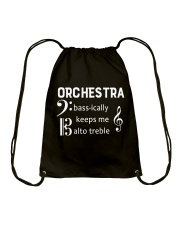 Music Orchestra Drawstring Bag thumbnail