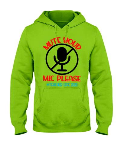 Mute your mic please