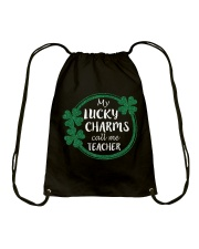 My Lucky Charms call me Teacher Drawstring Bag thumbnail