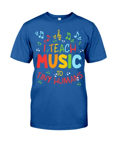 I Teach Music to Tiny Humans