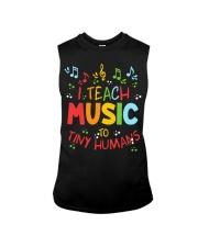 I Teach Music to Tiny Humans Sleeveless Tee thumbnail