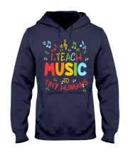 I Teach Music to Tiny Humans Hooded Sweatshirt tile