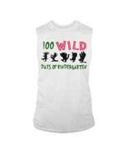 100 Wild Days Of Kindergarten Sleeveless Tee thumbnail