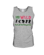 100 Wild Days Of Kindergarten Unisex Tank thumbnail