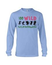 100 Wild Days Of Kindergarten Long Sleeve Tee thumbnail