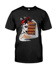 Women Strong Nurse Classic T-Shirt thumbnail