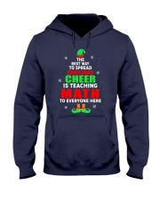 SPREAD CHRISTMAS CHEER IS TEACHING MATH Hooded Sweatshirt thumbnail