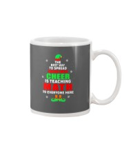 SPREAD CHRISTMAS CHEER IS TEACHING MATH Mug thumbnail
