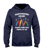 COMPLEMENTARY COLORS Hooded Sweatshirt thumbnail