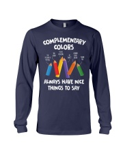 COMPLEMENTARY COLORS Long Sleeve Tee thumbnail