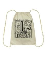 Librarian Drawstring Bag thumbnail
