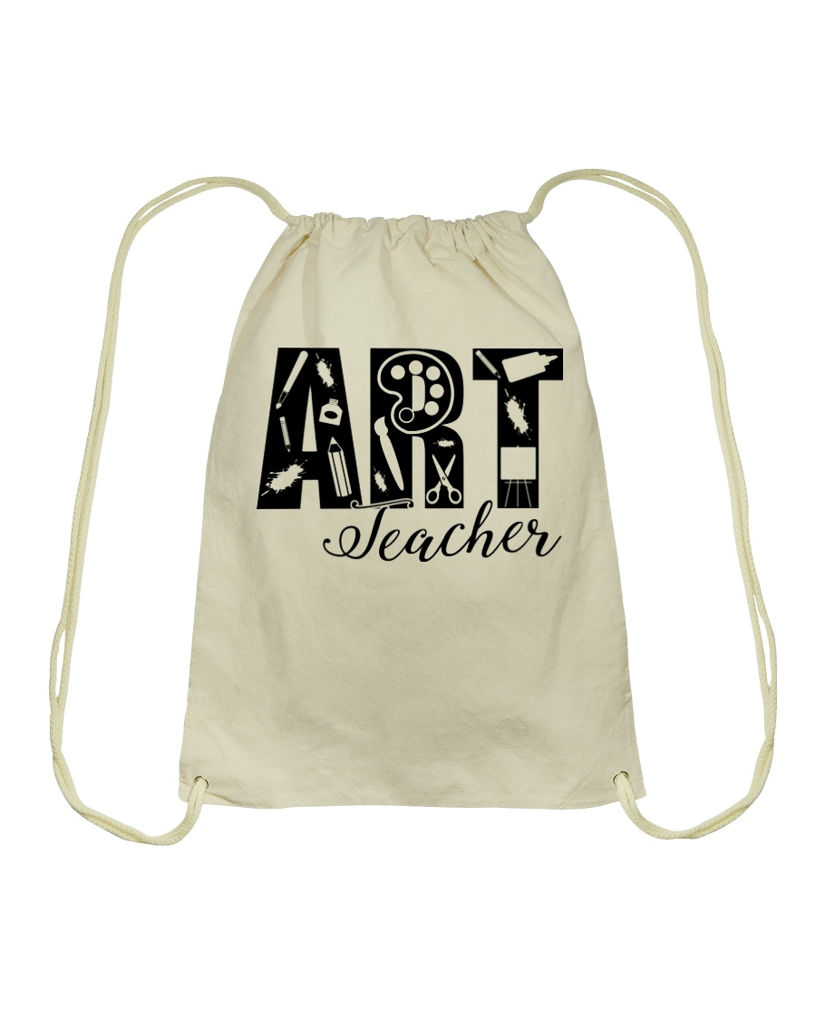 ART TEACHER  Drawstring Bag