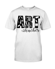 ART TEACHER  Classic T-Shirt thumbnail