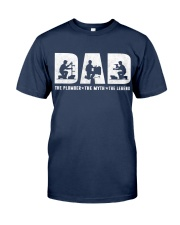 Dad the Plumber Classic T-Shirt tile