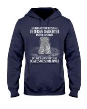 Perfect Gift - for Veteran Dad Hooded Sweatshirt thumbnail