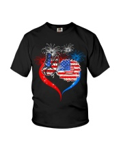 Nurse july4th Youth T-Shirt tile