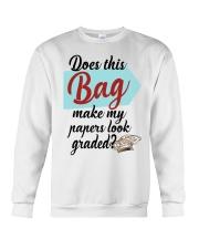 Does this Bag make my papers Crewneck Sweatshirt thumbnail
