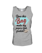 Does this Bag make my papers Unisex Tank thumbnail