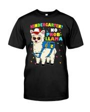 KINDERGARTEN NO PROB-LLAMA Classic T-Shirt thumbnail