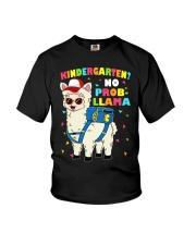 KINDERGARTEN NO PROB-LLAMA Youth T-Shirt front