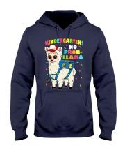 KINDERGARTEN NO PROB-LLAMA Hooded Sweatshirt thumbnail