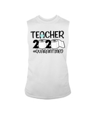 Teacher 2020 Quarantined Sleeveless Tee tile