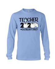Teacher 2020 Quarantined Long Sleeve Tee tile