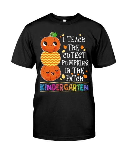 Kindergarten Shirt for Halloween