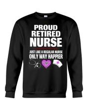 Proud retired Nurse Crewneck Sweatshirt thumbnail