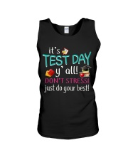It's test day y'all Unisex Tank thumbnail