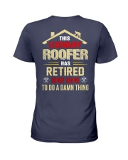 This Legendary Roofer  Ladies T-Shirt thumbnail
