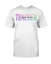 Teacher Quaranteach Classic T-Shirt front