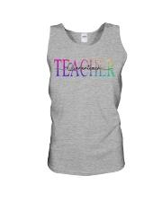 Teacher Quaranteach Unisex Tank thumbnail