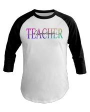 Teacher Quaranteach Baseball Tee thumbnail