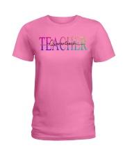 Teacher Quaranteach Ladies T-Shirt thumbnail