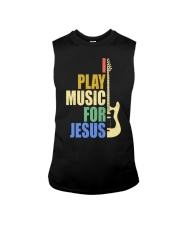 I Play Music For Jesus Sleeveless Tee thumbnail