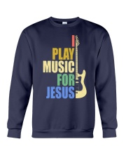 I Play Music For Jesus Crewneck Sweatshirt thumbnail
