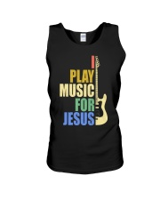 I Play Music For Jesus Unisex Tank thumbnail