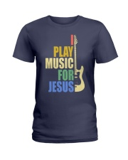 I Play Music For Jesus Ladies T-Shirt thumbnail