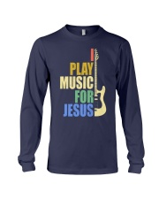 I Play Music For Jesus Long Sleeve Tee thumbnail