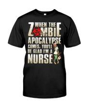 Halloween Nurse Classic T-Shirt front
