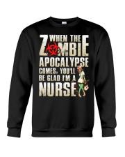 Halloween Nurse Crewneck Sweatshirt thumbnail