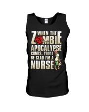 Halloween Nurse Unisex Tank thumbnail