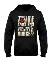 Halloween Nurse Hooded Sweatshirt thumbnail