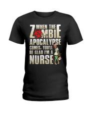 Halloween Nurse Ladies T-Shirt thumbnail