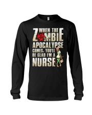 Halloween Nurse Long Sleeve Tee thumbnail