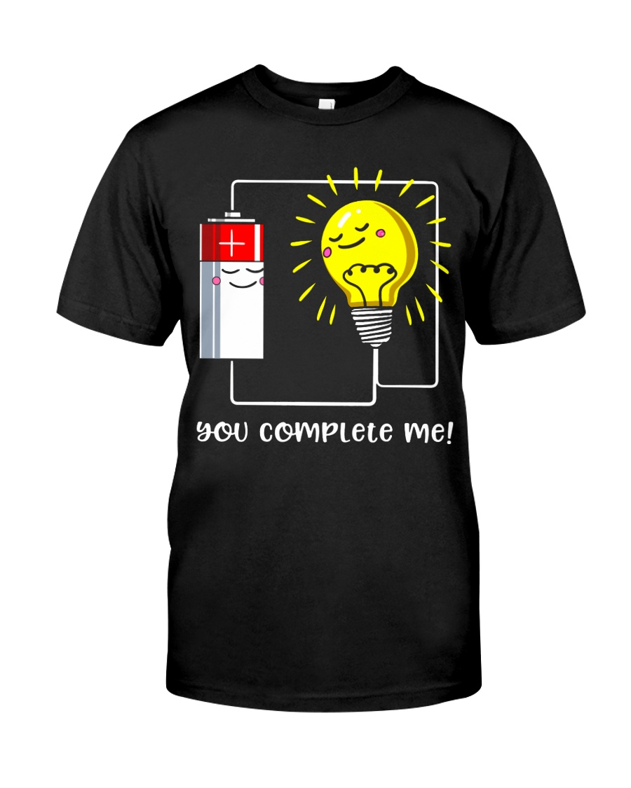 Science - you complete me Classic T-Shirt
